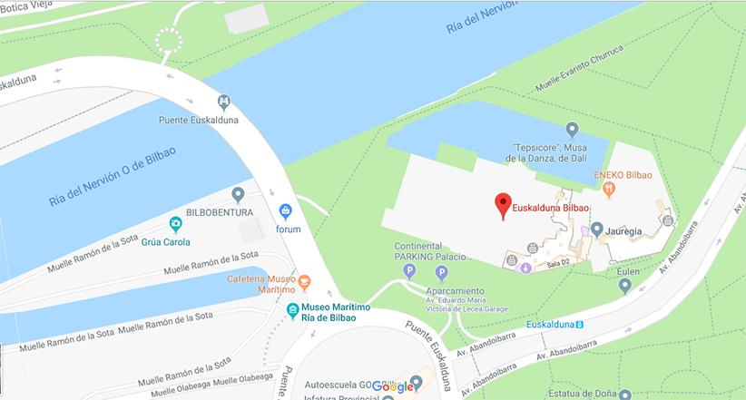 Plano situación Euskduna