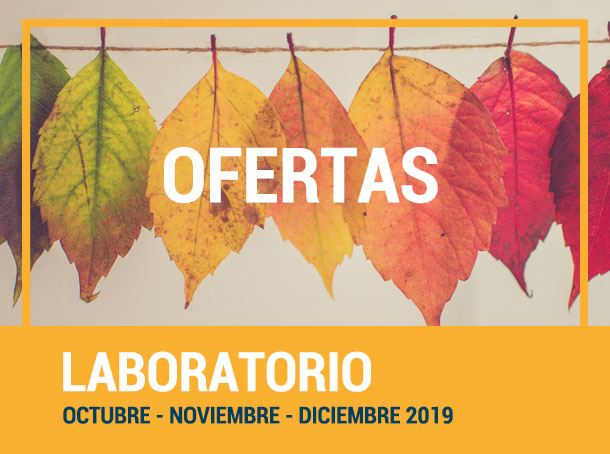 Ofertas octubre- diciembre 2019