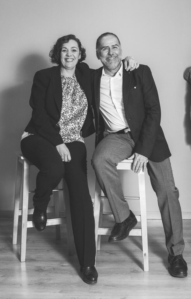 Jose Luis Hermida y Cristina del Molino