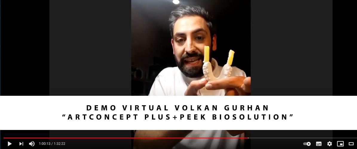 """Demo virtual """"ArtConcept plus+Peek Biosolution"""" por Volkan Gurhan"""