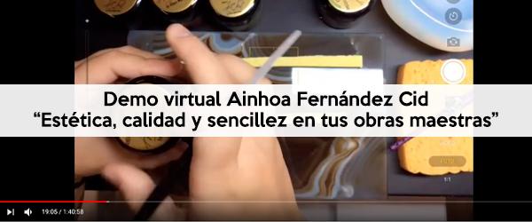 """Demo virtual Ainhoa Fernández Cid """"Estética, calidad y sencillez en tus obras maestras"""" by Sagemax-Artoral"""