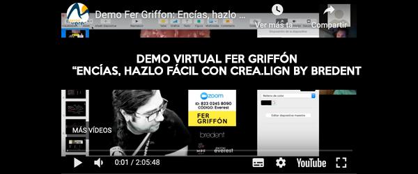 "Demo virtual Fer Griffon ""Encías, hazlo fácil con Crea.Lign by Bredent"